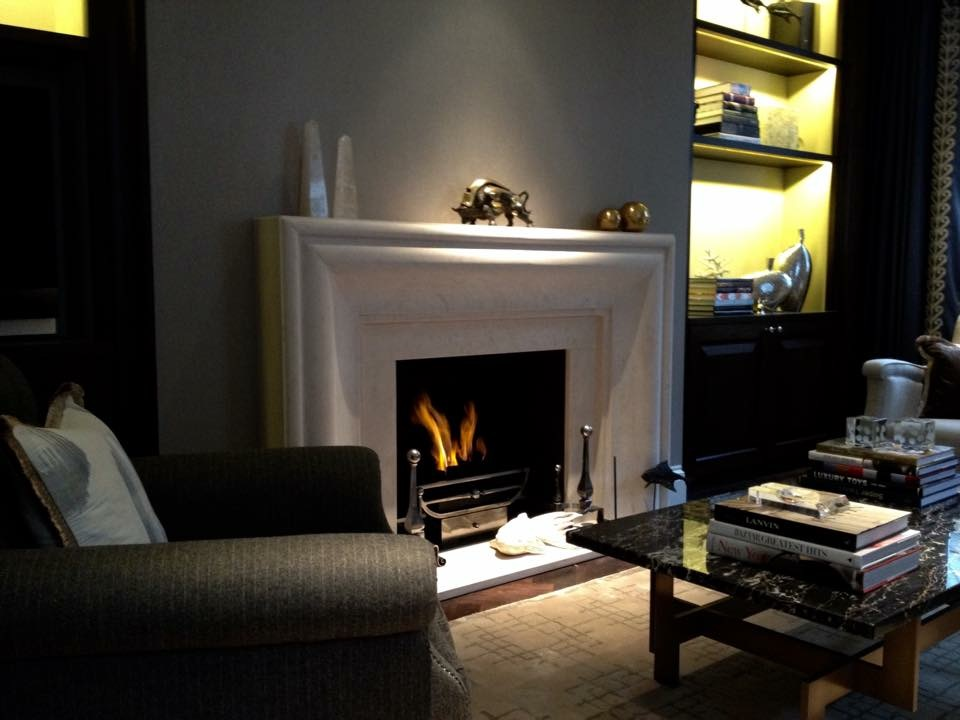 Pont Street Mews - Knightsbridge - Bespoke Fireplaces and Gas Fires