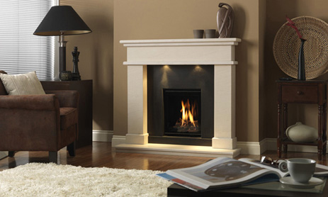 <p>Manufacturer: Dru&lt;br&gt;Output: 3.0kW natural gas, 3.1kW    propane&lt;br&gt;Fuel type: natural gas  and propane&lt;br&gt;Flue type: conventional and    balanced flue&lt;br&gt;Controls: full  remote  control&lt;br&gt;Colours   and finishes: black painted  finish&lt;br&gt;Net  efficiency: 76%</p>
