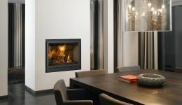 <p>Manufacturer: Barbas&lt;br&gt;Nominal output: 8-12kW&lt;br&gt;Fuel type: wood&lt;br&gt;Smoke control exempt: no&lt;br&gt;Colours and finishes: black painted finish&lt;br&gt;Net efficiency: 85%</p>