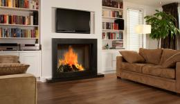 <p>Manufacturer: Barbas&lt;br&gt;Nominal output: 8-15kW&lt;br&gt;Fuel    type:   wood&lt;br&gt;Smoke control exempt: no&lt;br&gt;Colours and    finishes:   black painted finish&lt;br&gt;Net efficiency: 83%</p>