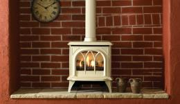 <p>Manufacturer: Gazco&lt;br&gt;Output: 4.55kW conventional flue, 4.3kW     balanced flue&lt;br&gt;Fuel type: natural gas and LPG&lt;br&gt;Flue     type: conventional and balanced flue&lt;br&gt;Controls: manual with     optional standard remote or programmable remote&lt;br&gt;Colours and  finishes: matt black and matt ivory painted finishes    and three enamel  finishes&lt;br&gt;Net efficiency: 75% conventional flue, 85% balanced  flue</p>