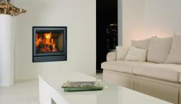 <p>Manufacturer: Barbas&lt;br&gt;Nominal output: 5-9kW&lt;br&gt;Fuel           type:   wood&lt;br&gt;Smoke control exempt: no&lt;br&gt;Colours and           finishes:   black painted finish&lt;br&gt;Net efficiency: 85%</p>