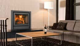 <p>Manufacturer: Barbas&lt;br&gt;Nominal output: 3-7kW&lt;br&gt;Fuel           type:   wood&lt;br&gt;Smoke control exempt: no&lt;br&gt;Colours and           finishes:   black painted finish&lt;br&gt;Net efficiency: 87%</p>