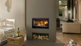 <p>Manufacturer: Barbas&lt;br&gt;Nominal output: 10-14kW&lt;br&gt;Fuel type:   wood&lt;br&gt;Smoke control exempt: no&lt;br&gt;Colours and finishes:   black painted finish&lt;br&gt;Net efficiency: 83%</p>