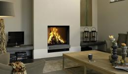 <p>Manufacturer: Barbas&lt;br&gt;Nominal output: 7-11kW&lt;br&gt;Fuel     type:   wood&lt;br&gt;Smoke control exempt: no&lt;br&gt;Colours and     finishes:   black painted finish&lt;br&gt;Net efficiency: 85%</p>