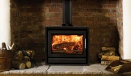 <p>Manufacturer: Stovax&lt;br&gt;Nominal output: 8kW&lt;br&gt;Fuel type: wood (multi-fuel with an optional smokeless fuel 'reducing' kit)&lt;br&gt;Smoke control exempt: yes&lt;br&gt;Colours and finishes: jet black and storm metallic paint finishes&lt;br&gt;Net efficiency: 80% wood, smokeless fuel 76%</p>