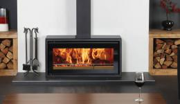<p>Manufacturer: Stovax&lt;br&gt;Nominal output: 5kW&lt;br&gt;Fuel type:   wood&lt;br&gt;Smoke control exempt: yes&lt;br&gt;Colours and finishes:   black paint&lt;br&gt;Net efficiency: 75%</p>