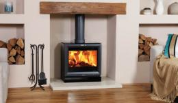 <p>Manufacturer: Stovax&lt;br&gt;Nominal output: 7kW&lt;br&gt;Fuel type: wood (multi-fuel with an optional multi-fuel kit)&lt;br&gt;Smoke control exempt: yes, when fitted with an optional smoke reduction kit&lt;br&gt;Colours and finishes:     jet black metallic paint&lt;br&gt;Net efficiency: 87%</p>