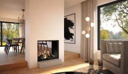 <p><span>The Maestro 75 Tunnel </span><em>Eco Wave</em><span> is a spectacular room divider for a dining room and living room,</span><br><span>kitchen or even a conservatory. This fire has black side walls and a Dynamic Flame Burner®.</span><br><span>This unique burner is built into ceramic wood logs, causing the flames to lap around them.</span></p>
