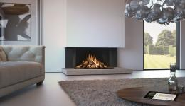 <p><span>Maestro 105/3 </span><em>Eco Wave </em><span>is a 3-sided panoramic gas fire with a spectacular log fire display featuring high, dense flames. There is a choice of stunning interior finishes and the option of Clear View glass for a reflection-free view. The Easy Release door system allows you to open the glass from the top or side for ease of access.</span></p>