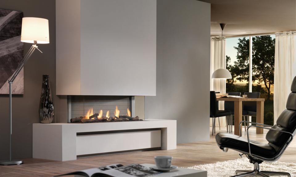 <p>Manufacturer: Dru&lt;br&gt;Output: 9.9kW natural gas, 10.6kW     propane&lt;br&gt;Fuel type: natural gas  and propane&lt;br&gt;Flue type:   balanced flue&lt;br&gt;Controls: full  remote   control&lt;br&gt;Colours   and finishes: cabinet in three wood finishes&lt;br&gt;Net  efficiency: 85%</p>