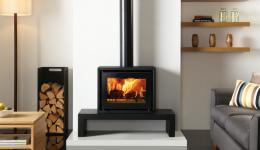 <p>Manufacturer: Stovax&lt;br&gt;Nominal output: 5kW&lt;br&gt;Fuel type:  wood&lt;br&gt;Smoke control exempt: yes&lt;br&gt;Colours and finishes:  black paint&lt;br&gt;Net efficiency: 80%</p>