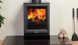 <p>Manufacturer: Stovax&lt;br&gt;Nominal output: 4.9kW&lt;br&gt;Fuel type: wood (multi-fuel with an optional multi-fuel kit)&lt;br&gt;Smoke control exempt: yes, when fitted with an optional smoke reduction kit&lt;br&gt;Colours and finishes:     jet black metallic paint&lt;br&gt;Net efficiency: 85%</p>