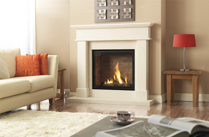 Dru Global XT CF gas fire