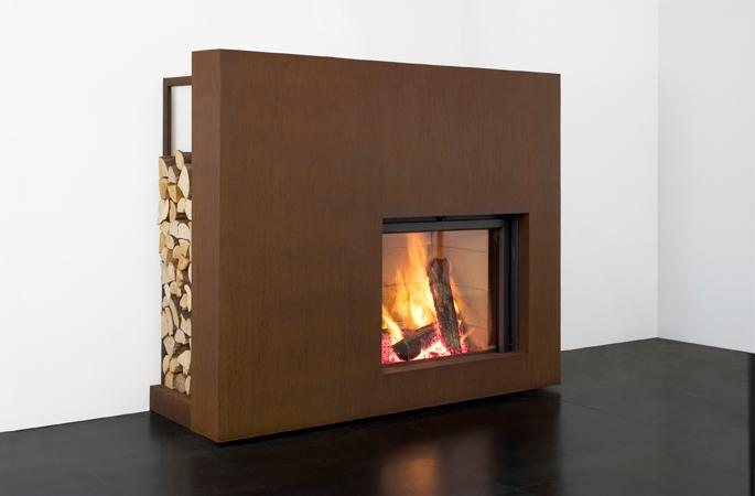 Stuv 21 85 SF Built In Woodburning Stove
